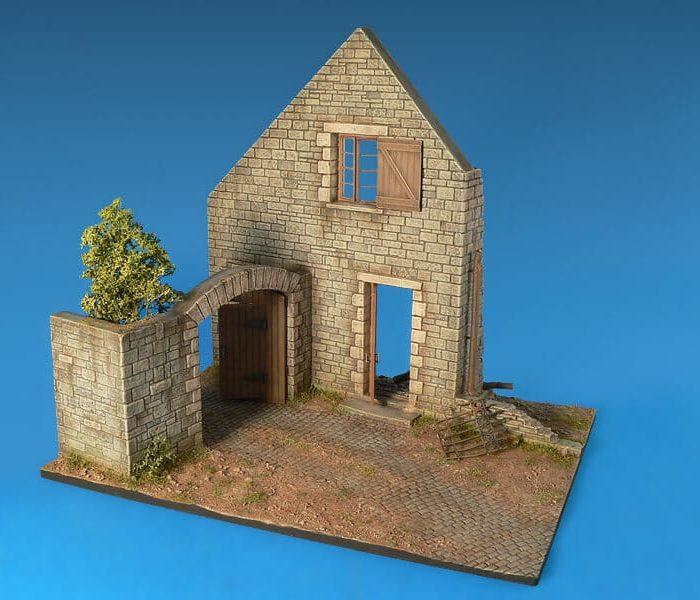 โมเดลฉากจำลอง MiniArt MI36015 Village Diorama Base 1/35