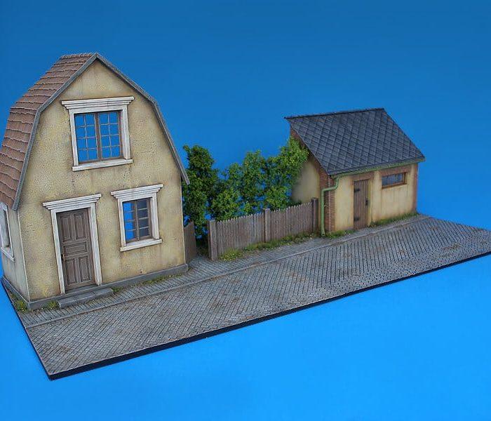 โมเดลฉากจำลอง MiniArt MI36027 Country Diorama 1/35