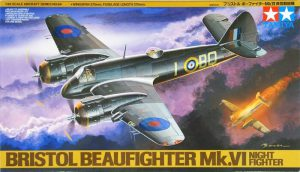 โมเดลเครื่องบิน TAMIYA TA61064 Bristol Beaufighter Mk.VI Night Fighter 1/48