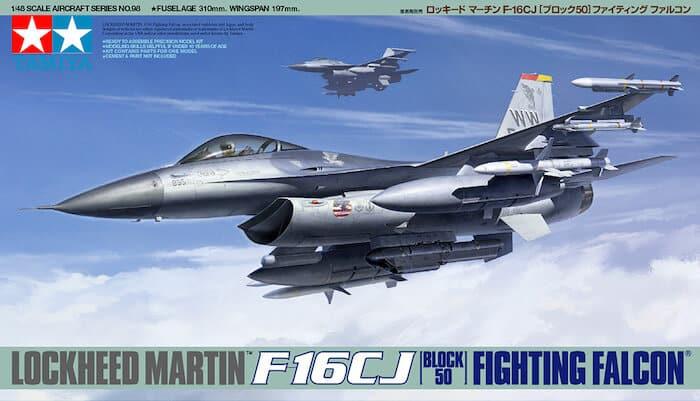 เครื่องบินทามิย่า TAMIYA 61098 F-16CJ Block 50 Fighting falcon 1/48