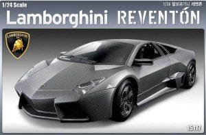 โมเดลรถแลมโบ Academy AC15117 Lamborghini Reventon 1/24