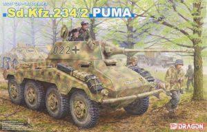 โมเดลรถถัง Dragon DRA6256 Sd.Kfz.234/2 PUMA 1/35
