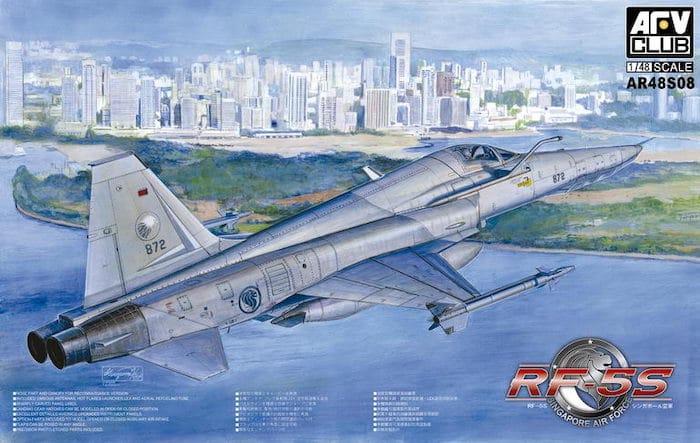 โมเดลเครื่องบิน AFV AR48S08 RF-5S Tiger Eye Singapore Air Force 1/48