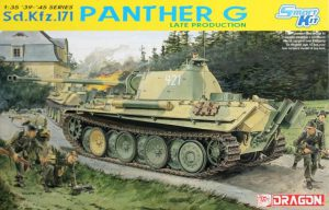 โมเดลรถถัง Dragon DRA6268 PANTHER G LATE PRODUCTION 1/35