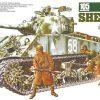 โมเดลรถถังทามิย่า Tamiya TA35251 M4A3 Sherman 105mm 1/35