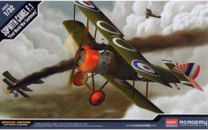 โมเดลเครื่องบิน Academy AC12122 SOPWITH CAMAL WW1 100TH ANNIVERSARY 1/32