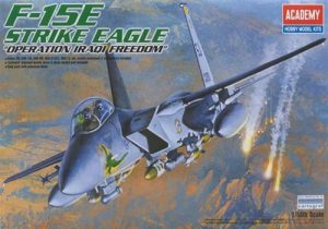 โมเดลเครื่องบิน Academy AC12215 F-15E STRIKE EAGLE [OPERATION IRAQ FREEDOM] 1/48