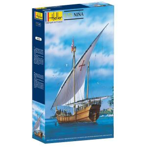 โมเดลเรือเดินสมุทร Heller HL80815 Nina Sailing Ship 1/75