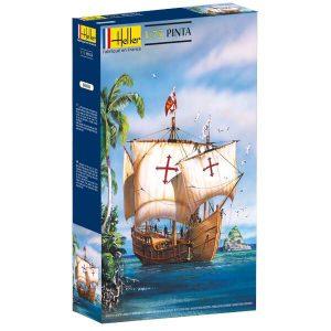 โมเดลเรือเดินสมุทร Heller HL80816 1492 Pinta Columbus 1/72