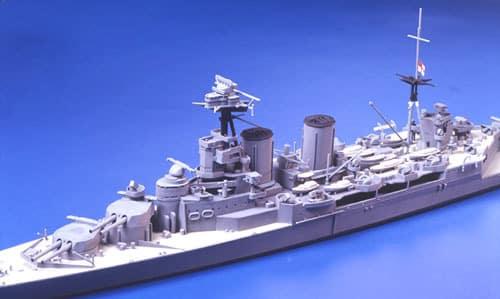 โมเดลเรือทามิย่า TAMIYA 31806 BRITISH BATTLE CRUISER HOOD 1/700