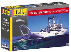 """โมเดลเรือเดินสมุทร Heller HL80615 Titanic Searcher """"Le Suroit"""" 1/200"""