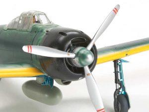 โมเดลเครื่องบิน TAMIYA 61108 MITSUBISHI A6M3/3a ZERO (ZEKE)1/48