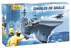 โมเดลเรือรบ Heller HL52905 Maquette Bateaux Charles de Gaulle 1/400