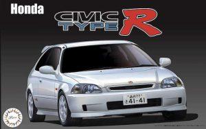 โมเดลรถ Fujimi Honda Civic TypeR Late Ver (EK9) 1/24