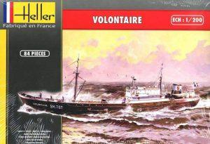 โมเดลเรือเดินสมุทร Heller HL80604 Volontaire Fishing Trawler 1/200