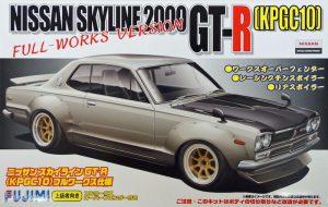 โมเดลรถ Fujimi Nissan Skyline (KPGC10) Hakoska Full-Works Ver. 1/24