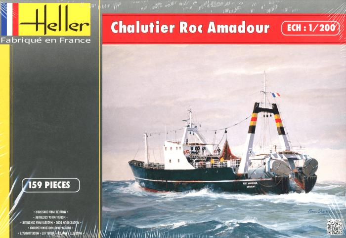 โมเดลเรือเดินสมุทร Heller HL80608 Roc Amadour 1/200