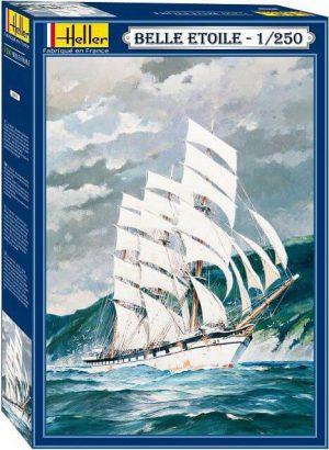 โมเดลเรือเดินสมุทร Heller HL80611 Belle Etoile 1/250