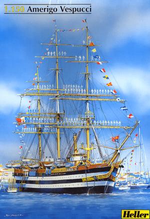โมเดลเรือเดินสมุทร Heller HL80807 Amerigo Vespucci 1/150