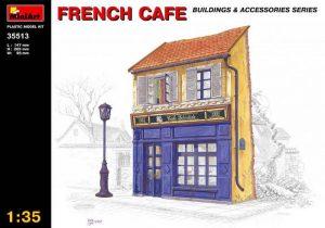 โมเดลฉากจำลอง MiniArt MI35513 French Cafe 1/35