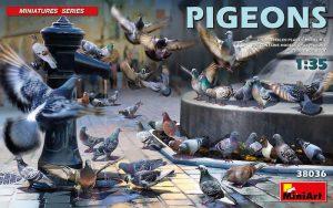 โมเดลฟิกเกอร์ มินิอาร์ท MiniArtMI38036 Pigeons 1/35