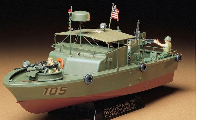 35150 โมเดลเรือตรวจการณ์ลำน้ำ Patrol Boat River U.S. PBR Pibber 1/35