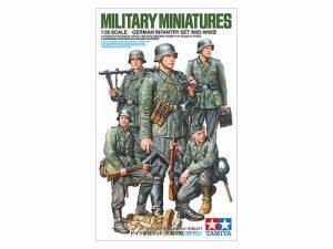 ฟิกเกอร์ทามิย่า TAMIYA 35371 GERMAN INFANTRY SET (MID-WWII) 1/35