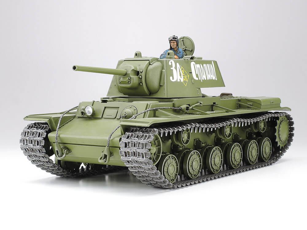 รถถังทามิย่า TAMIYA 35372 KV-1 MODEL 1941 EARLY 1/35