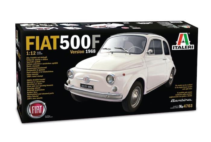 โมเดลรถเฟียต ITALERI FIAT 500F 1968 ( 1/12 )