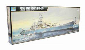 โมเดลเรือรบ Trumpeter BB-63 Missouri 1/200