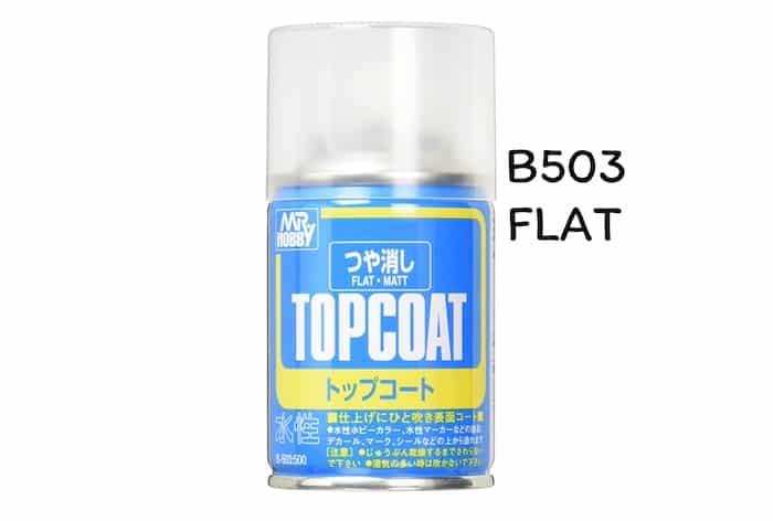 เคลียร์ด้าน MR TOPCOAT FLAT CLEAR