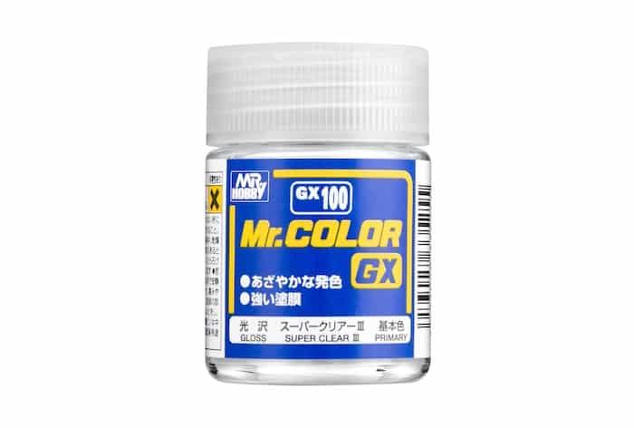 สีเคลือบเงาพิเศษ Gunze Super Clear III GX100 18ml