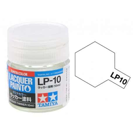 สีทามิย่า LP10 TAMIYA LACQUER PAINT: LACQUER THINNER (10ML)