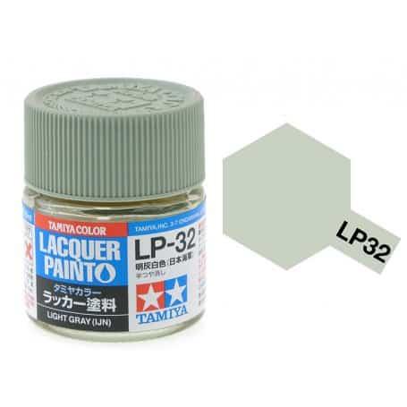 สีทามิย่า LP32 TAMIYA LACQUER PAINT LIGHT GRAY IJN (10ML)