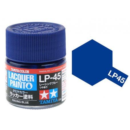สีทามิย่า LP45 TAMIYA LACQUER PAINT RACING BLUE (10ML)