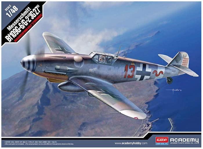 โมเดลเครื่องบิน Academy 12321 MESSERSCHMITT Bf109G-6/G-2 1/48
