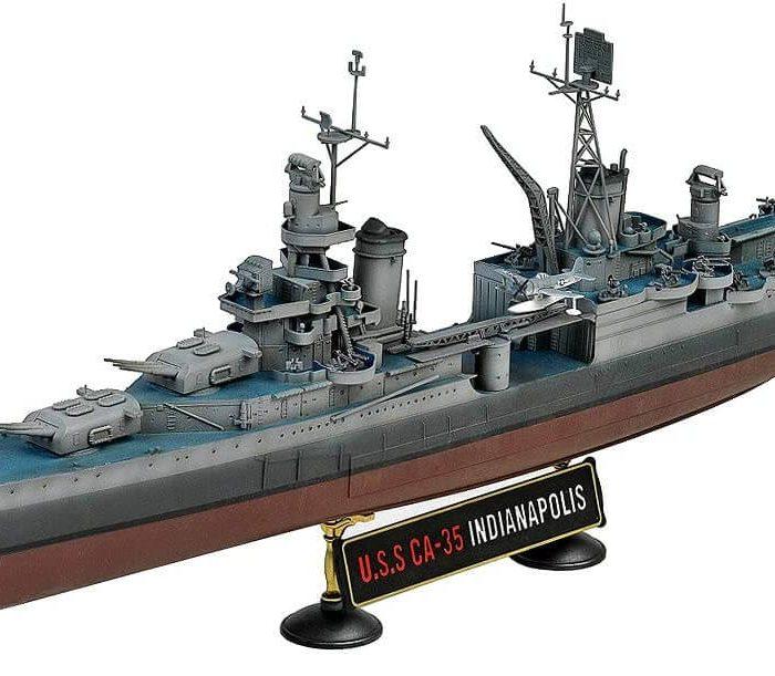 โมเดลเรือรบ Academy 14107 USS Indianapolis 1/350