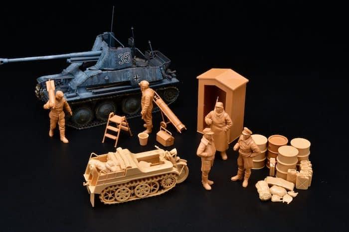 โมเดลฟิกเกอร์ทหาร Tamiya Figure