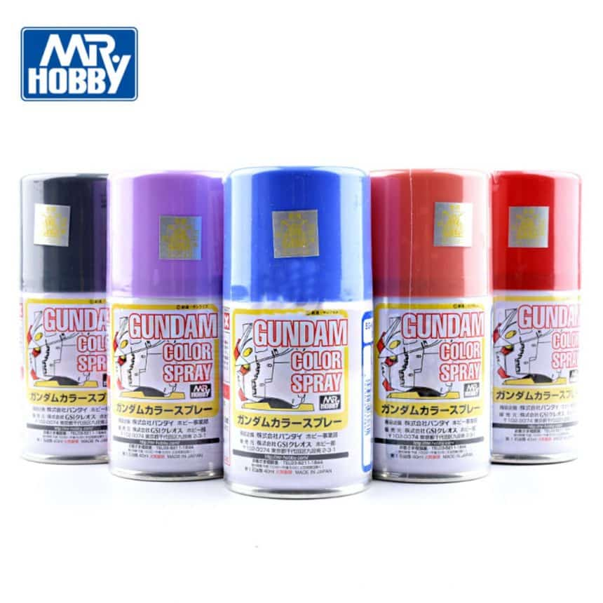 MR.GUNDAM COLOR SPRAY 100ml
