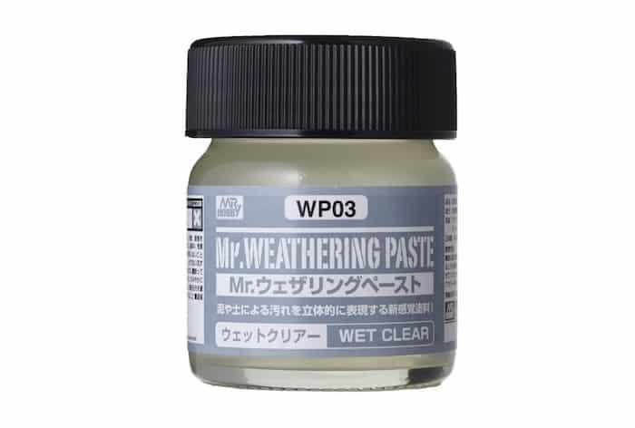 เอฟเฟคพื้นผิวเปียกน้ำ WP03 Mr. WEATHERING PASTE WET CLEAR