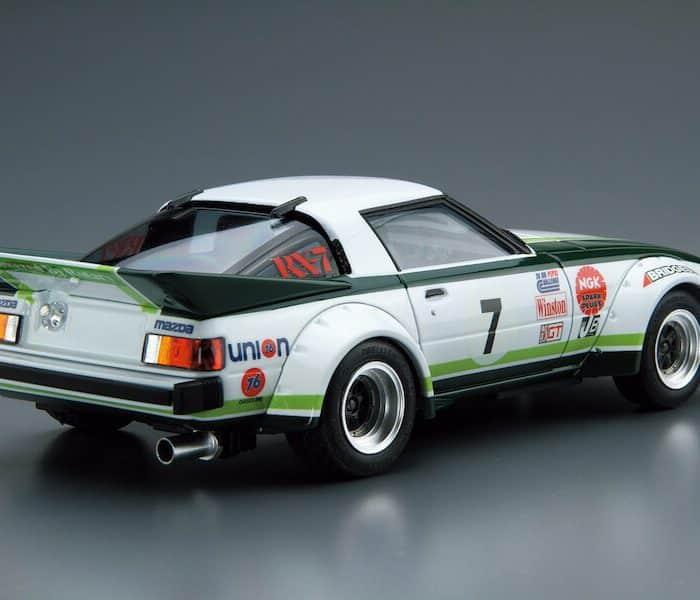 รถอาโอชิม่า AOSHIMA MAZDA SA22C RX-7 Daytona '79 1/24