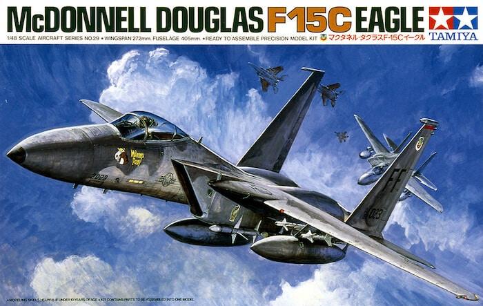เครื่องบินทามิย่า TAMIYA 61029 McDONNEL DOUGLAS F-15C 1/48
