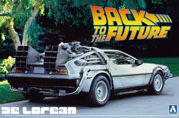 รถอาโอชิม่า AOSHIMA BACK TO THE FUTURE DELOREAN from PART I 1/24