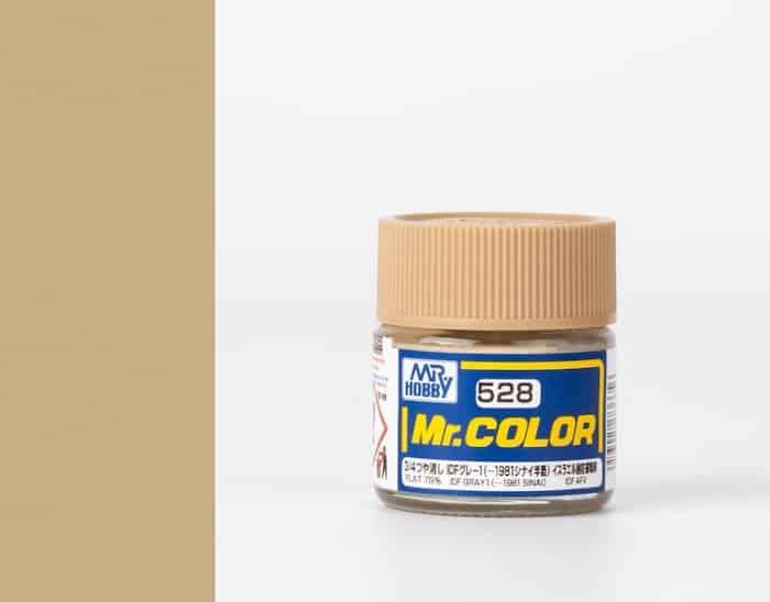 สีสูตรทินเนอร์ MR.COLOR C528 IDF GRAY1 10ML