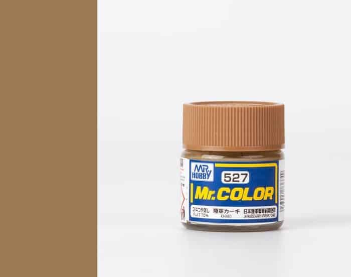สีสูตรทินเนอร์ MR.COLOR C527 KHAKI 10ML