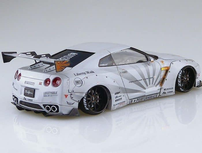 รถอาโอชิม่า AOSHIMA LB WORKS R35 GT-R Ver.2 1/24