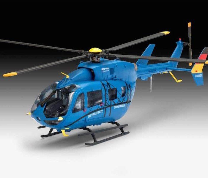 เฮลิคอปเตอร์ตัวไทย Revell Eurocopter EC 145 1/72