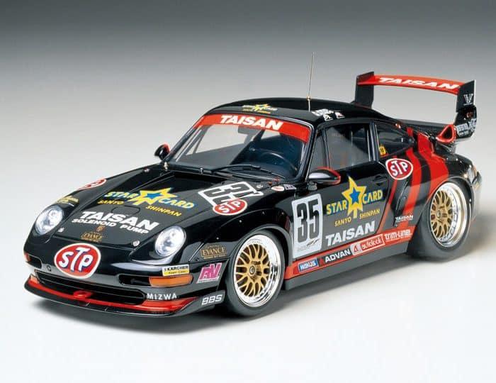 โมเดลรถพอร์ช TAMIYA 24175 TAISAN STARCARD PORSCHE 911 GT2 1/24