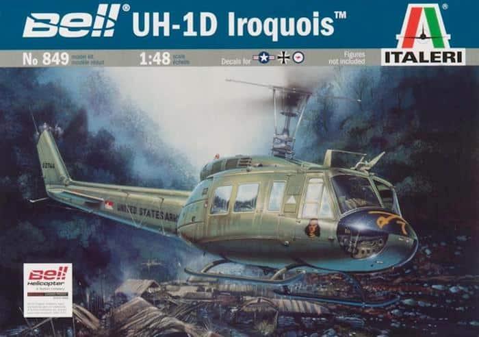 โมเดลเฮลิคอปเตอร์ ITALERI UH-1D Iroquois 1/48