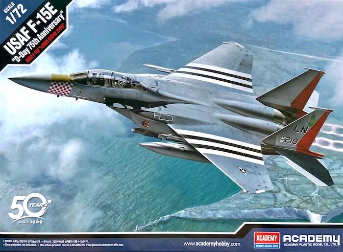 เครื่องบิน ACADEMY 12568 USAF F-15E D-DAY 75th 1/72